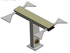 ETV Series Horizontally Polarized High Band VHF Panel